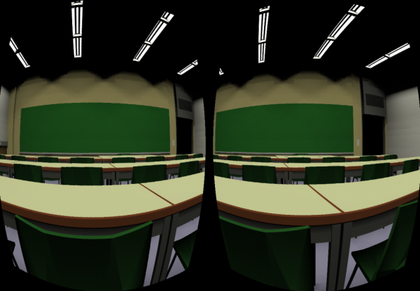 Classroom example for Occulus Headset